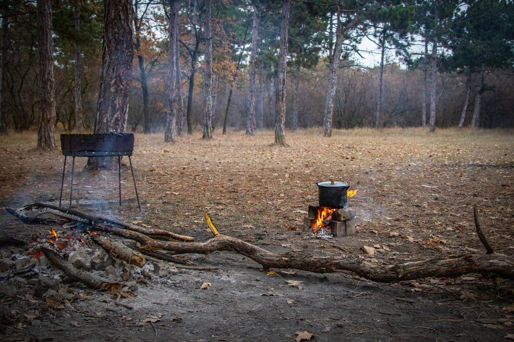 Construire espace de cuisson en plein air