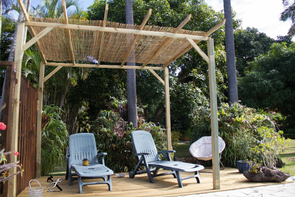Terrasse en bois facile à construire